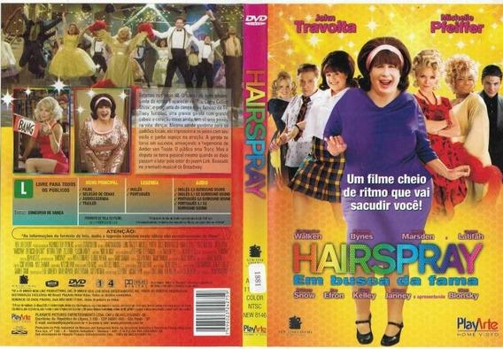Dvd Hairspray, John Travolta, Filme