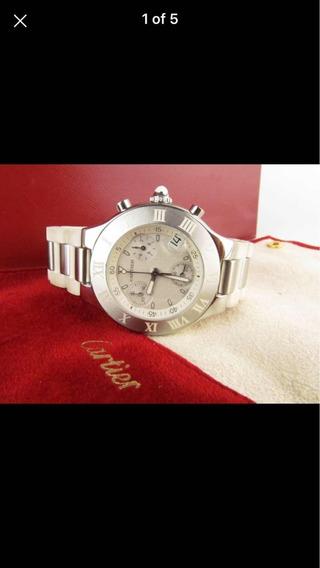 Relógio Cartier Chronoscaph 21 Original