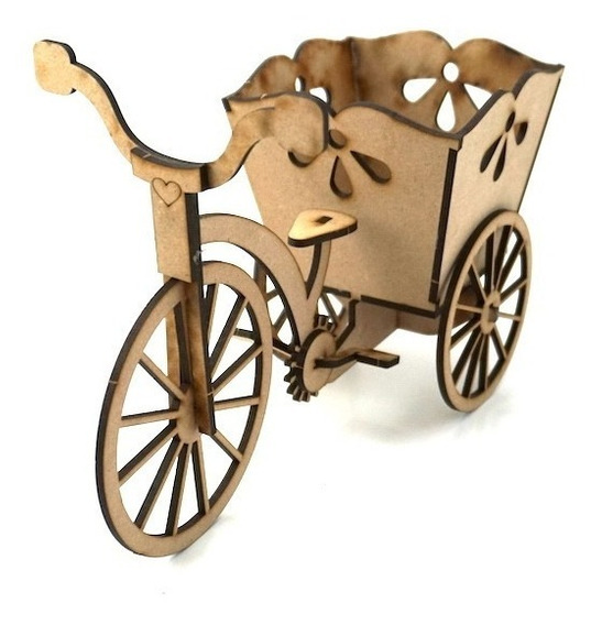 12pzs Triciclo Maceta Centro De Mesa Dulces Candybar Art644
