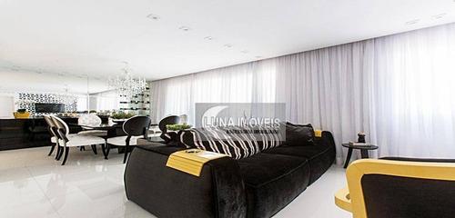 Apartamento Com 3 Dormitórios À Venda, 123 M² Por R$ 990.000,00 - Centro - São Bernardo Do Campo/sp - Ap3074