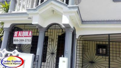 Casa De Alquiler En Higuey, República Dominicana Ca-049