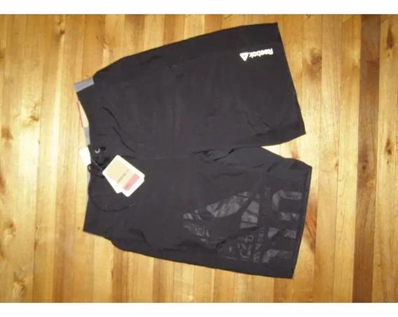 Pantaloneta Negra Reebook Regular