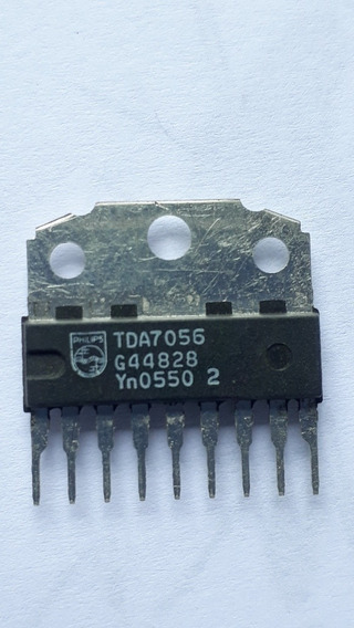 2pç Ci Tda7056 Amplificador Áudio Original Antigo