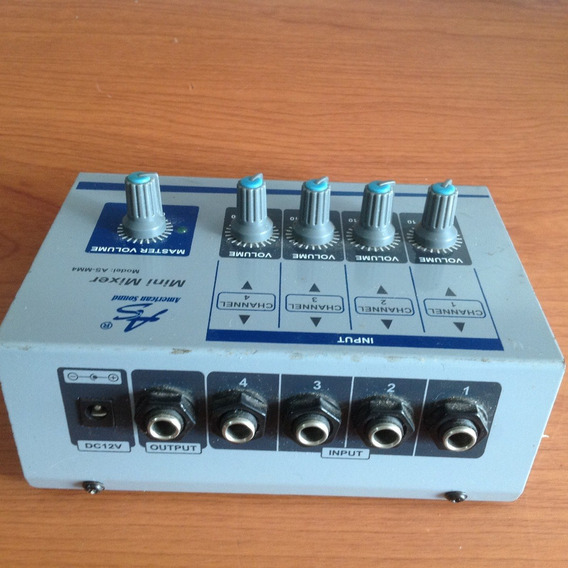 Mini Mixer Modelo As-mm4 American Sound