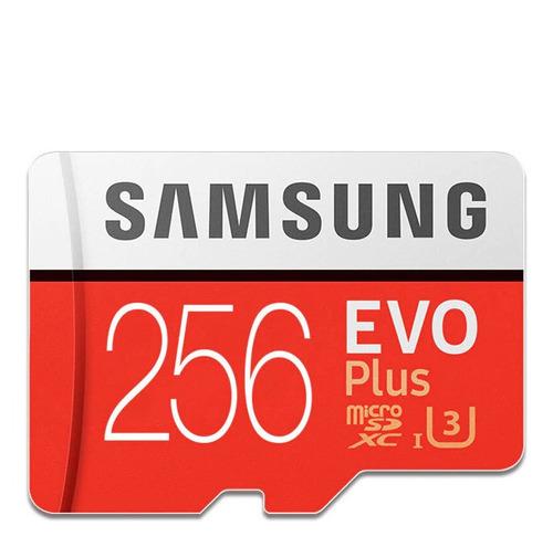 256gb Micro Sd Samsung U3 Evo Plus 100/90 Mbps Excelente Vel