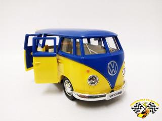 Miniatura Volkwagen Kombi 1962 Amarela Esc.1:32 Rmz Raridade