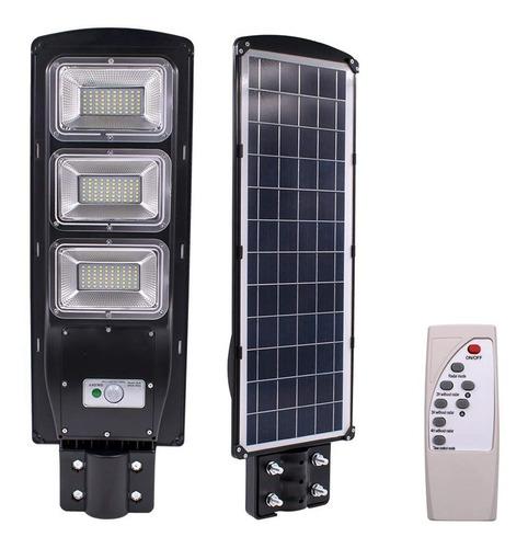 Lampara Para Exterior Solar Led De 90w Con Sensor De Luz Mercado Libre