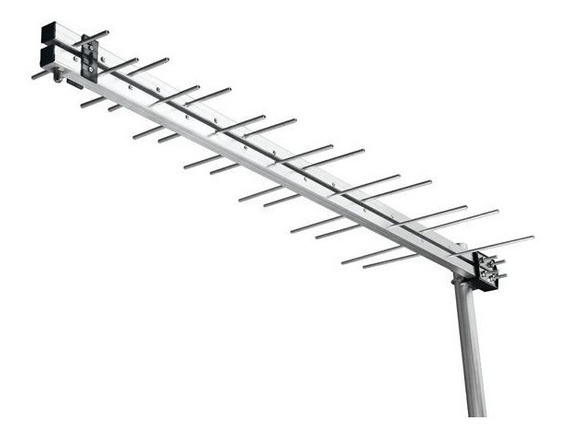 Antena De Celular Espinha De Peixe 700 A 900 Mhz 17 Dbi