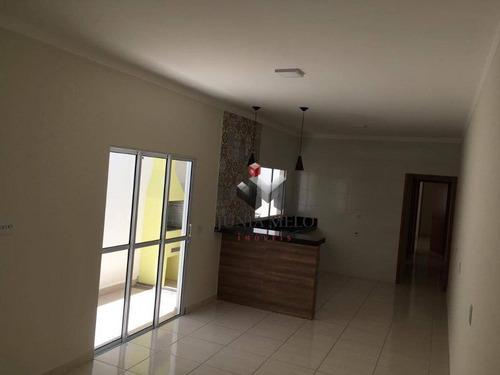 À Venda Por R$ 307.400 Casa Com 2 Dormitórios , 130 M²  - Jardim Piratininga - Ribeirão Preto/sp - Ca0601
