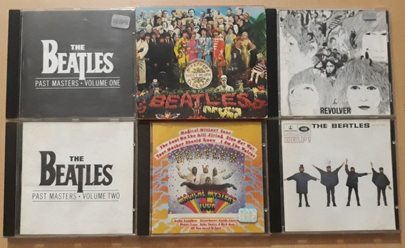 The Beatles Cd Set 6 Discos Help Sgt. Peppers Vs