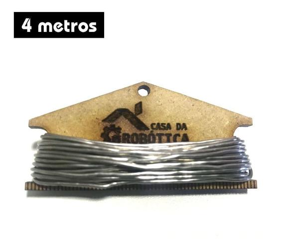 Fio De Solda / Estanho 1mm Com 4 Metros Para Soldar C/ Nfe