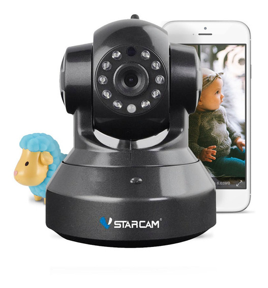 Baby Call Monitor Infantil Camara Bebe Seguridad Ip Wifi Inalambrica Motorizada Celular Vstarcam