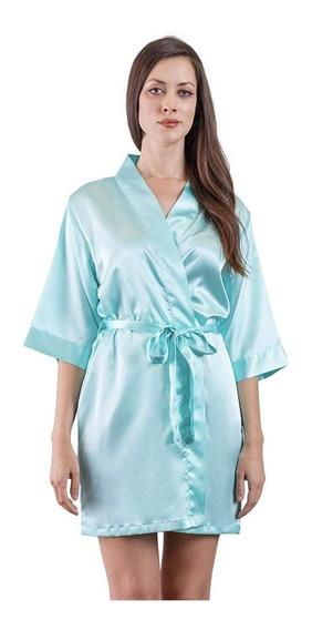 Victorias Secret Lencería Bata Kimono Satén Básica