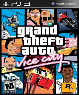 Gta Grand Theft Auto Vice City ~ Ps3 Digital Español