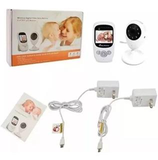 Monitor Cámara Bebé Inalámbrica Vigilancia Visión Nocturna