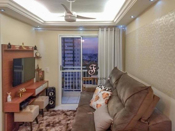 Apartamento À Venda, 52 M² Por R$ 340.000,00 - Bonfim - Campinas/sp - Ap1466