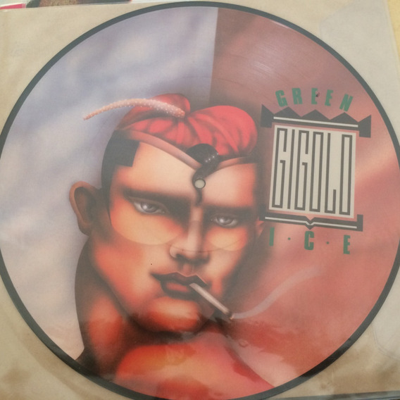 Vinilo Green Ice Gigolo Maxi Picture Disc Italo Disco Nuevo