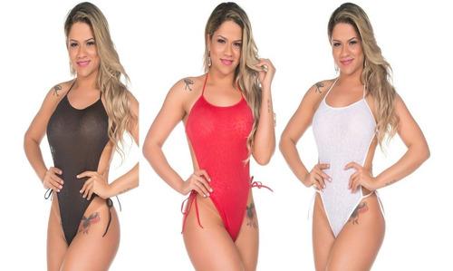 Body Em Renda Lingerie Feminina Presente Namorados Especial