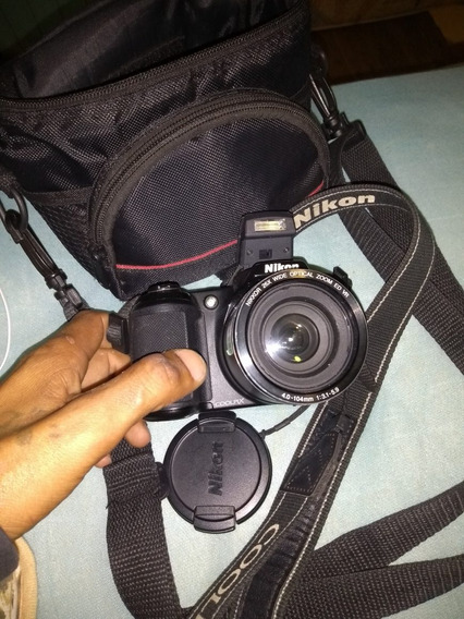 Maquina Digital Nikon Nova Com Nota 900 Reais