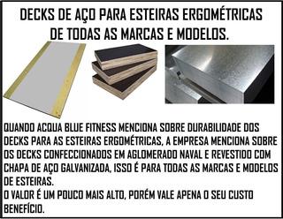 Decks Para Esteiras Ergométricas Confeccionados Em Aço