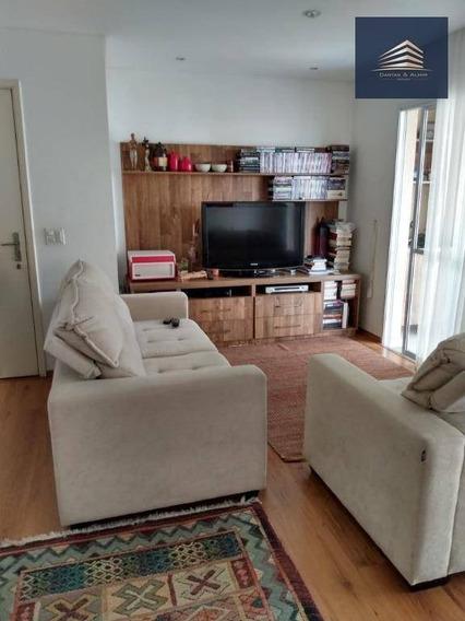 Apartamento No Condomínio Parque Clube, 92m², 3 Dormitórios, 1 Suíte, 2 Vagas. - Ap0849