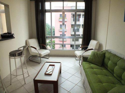 Apartamento Com 1 Dorm, Itararé, São Vicente - R$ 228 Mil, Cod: 538 - V538