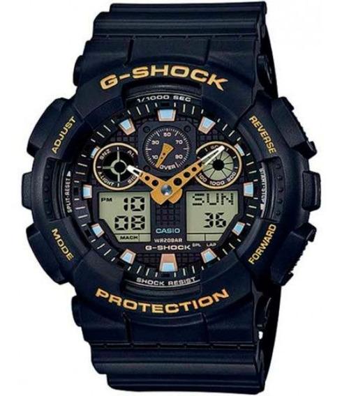 Relógio Casio Masculino G-shock Ga100gbx1a9dr