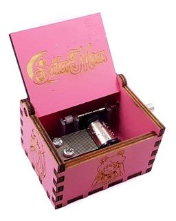 Sailor Moon Caja Musical Musica Varios Color + Envio Gratis