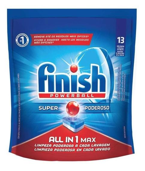 Finish 13 Pods Lavavajilla Detergente Trastes Capsulas
