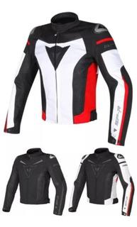 Chamarra Dainese Spr Super Speed De Moto 100% Calidad Blanca