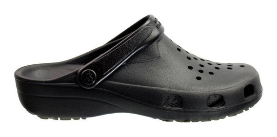 Crocs Adulto E Infantil Soft Work Antiderrapante Preto