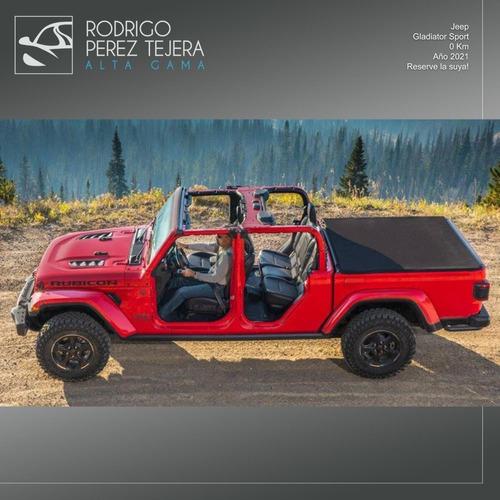 Jeep Gladiator Sport 3.6 L V6 4x4 At 0 Km Entrega Julio!