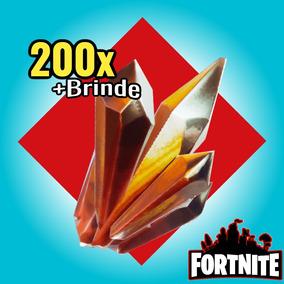 200 Cristal Solar - Fortnite - Salve O Mundo