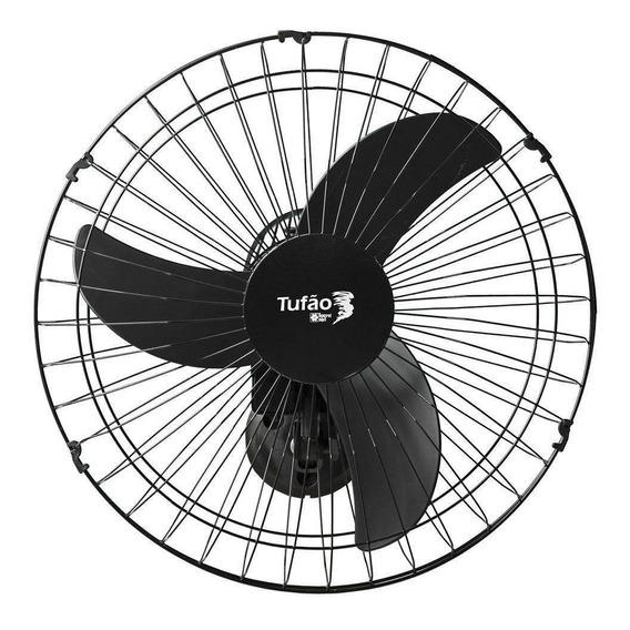 Ventilador De Parede Tufão Loren Sid 60 Cm Bivolt Preto
