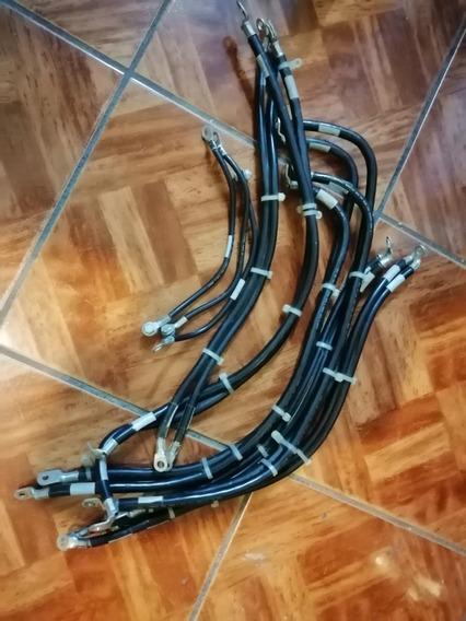 Lote 15 Cables Electricos 2,4,8 Awg 600v Baterias-maquinas