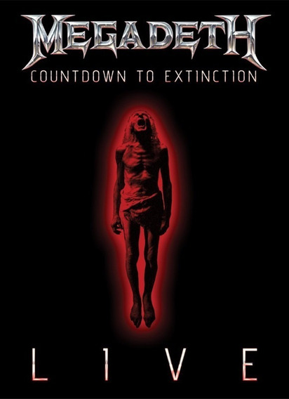 Dvd Megadeth Countdown To Extinction Live En Stockmusicanoba