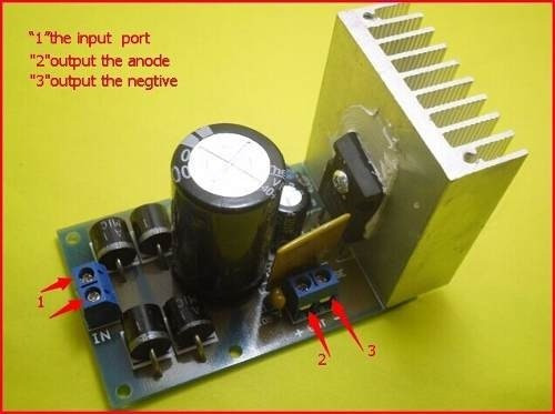 Kit Modulo Regulador De Tensão Lt1083 Ac/dc Para Dc 7a