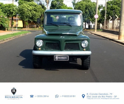 Rural Willys 6 Cilindros 1973