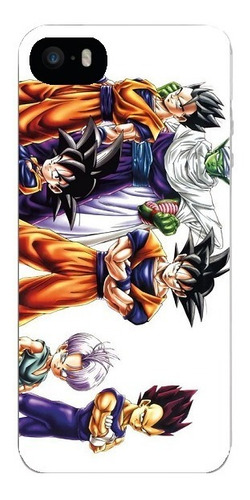 Capinha Dragon Ball Z Goku Goten iPhone 4/4s/5/5s/5c/6/6p 7
