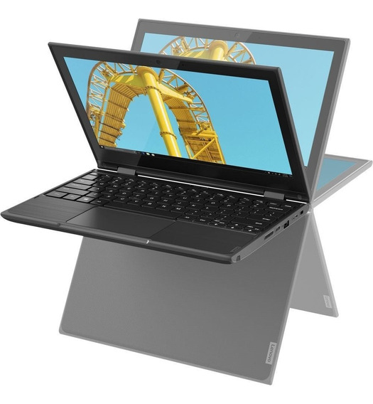 Notebook Lenovo 2 Em 1 300e, Quad Core, 4gb, 64gb, 11.6