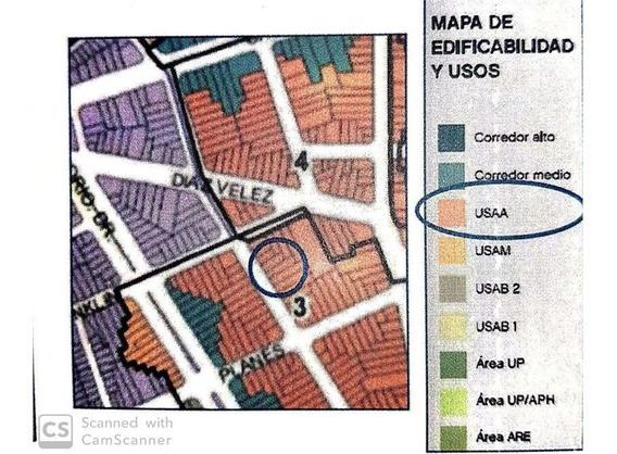 Terreno Venta Villa Crespo Usaa 1937 M2 Vendibles