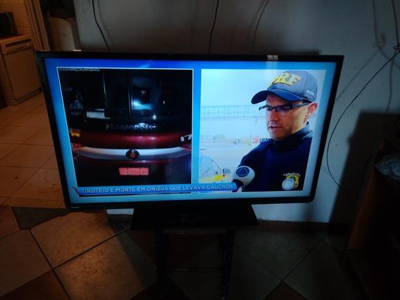 Barbada Vendo Tv Led 48 Polegadas Com Conversor Digital