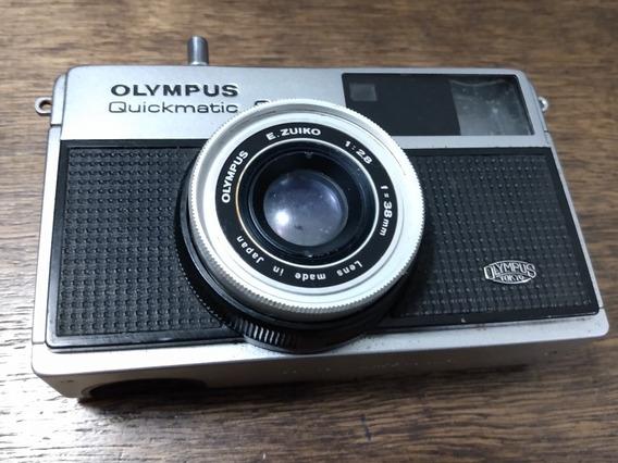 Linda Câmera Fotográfica Olympus Quickmatic 600 (c10)