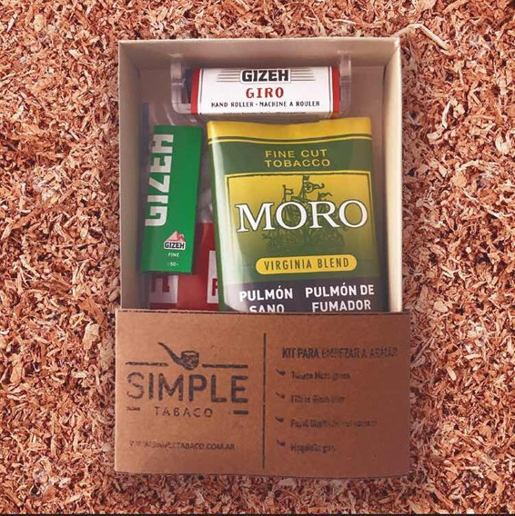 Regalo Original Para Armar Tabaco + Filtro + Papel + Maquina