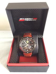 Relógio Scuderia Ferrari Novo Na Embalagem
