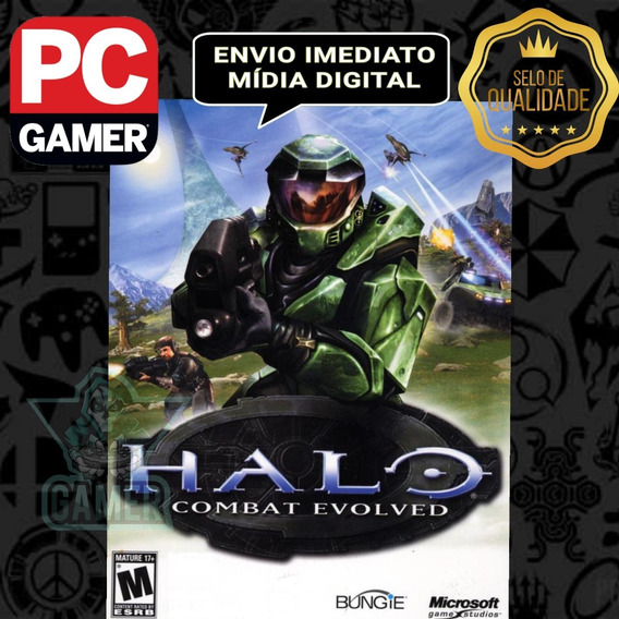 Halo Combat Evolved - Pc Mídia Digital