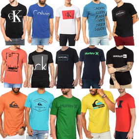 Kit 10 Camisetas Camisas Blusas Masculina Atacado