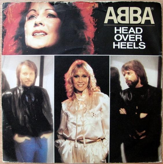 Abba Head Over Heels Vinilo Simple Single Ingles 1981