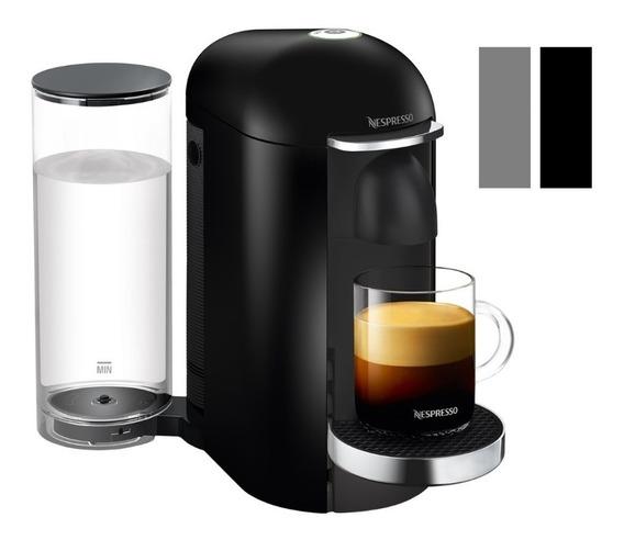 Cafetera Nespresso Vertuo Plus Negra Eco Friendly