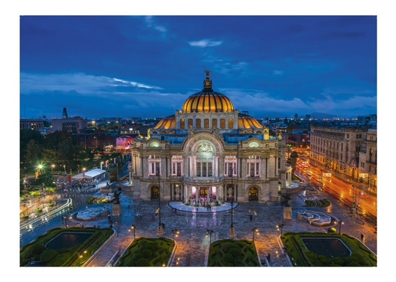 Palacio Bellas Artes Mexico 1000pz Rompecabezas Ravensburger